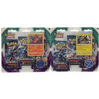 Pokemon TCG Sun & Moon Guardians Rising Triple Booster Blister Pack