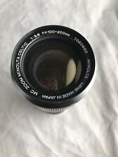 Minolta MC Celtic Zoom 100-200mm F5.6 Lens (S1-2)