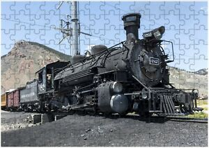 Coal Steam Train JIGSAW Puzzle Birthday Christmas Gift (Can Be Personalised)