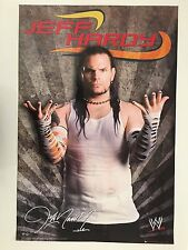 WORLD WRESTLING,JEFF HARDY,OFFICIAL LICENSED 2008  POSTER