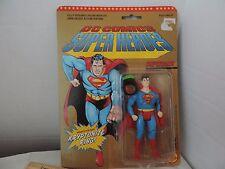 Toybiz DC Comics Super Heroes Superman Figure 1989 With Kryptonite Ring