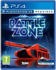 BattleZone Battle Zone VR Sony PlayStation 4 PS4 Spiel PSVR Game PAL CiB NEU