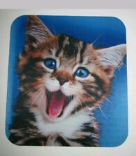 Cute Onn Smiling Kitty Kitten Face Non Slip Mouse Pad - BRAND NEW IN PACKAGE