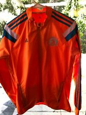 BOSTON MARATHON-2014 - Adidas JACKET 118th RUNNING GENUINE BAA Neon Orange Amal