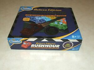 Rush Hour Board Game - Deluxe Edition - ThinkFun - Complete