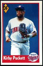 Kirby Puckett #82 Panini Ligue majeure de Baseball 1995 autocollant (C348)