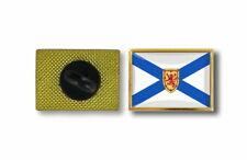 pins pin's flag national badge metal lapel hat button vest canada nova scotia