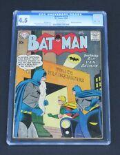 """BATMAN #119 CGC 4.5 Batwoman """"RIP VAN BATMAN!"""" story 1958 DC Comics"""