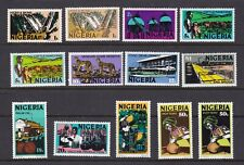 Nigeria 1973-74 Photogravure Definitive Set of 10 Plus 3 ShadesMint Never Hinged