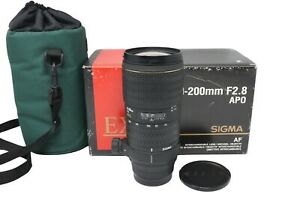 Sigma 70-200mm Telephoto Lens f/2.8 APO for Sony A-Mount, Fair Condition