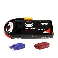 Venom 75C 3S 1300mAh 11.1V LiPo Drone Battery : Graupner Alpha 250Q HoTT