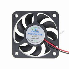 Gdt 50mm DC 5V 2Pin 50x50x10mm Mini Brushless Computer Cooler Cooling Fan 5010