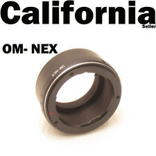 OM to NEX Olympus OM Mount Lens to Sony NEX6 NEX7 NEX5R Camera Adapter 6 7 5R 5
