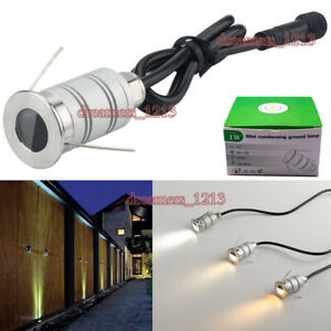 IP67 Waterproof Mini Spotlight Stainless Steel Outdoor Lighting Buried LED Lamps