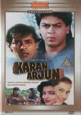 KARAN ARJUN - BOLLYWOOD DVD - Shahrukh Khan, Salman Khan, Mamta Kulkarni,