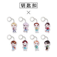 Kpop EXO 4th Album THE WAR Q edition Acrylic Key Ring Keychain