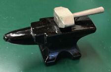 Vintage Avon Blacksmith's Anvil and Hammer Decanter Bottle