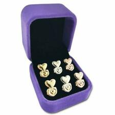 Magic Earring Lifters 3 Pairs of Adjustable Hypoallergenic Sterling Silver