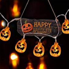 Halloween Decorazioni Fenvella 20 LED Zucca Halloween Luminosa luci party feste
