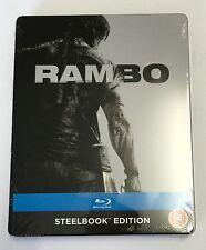 Zavvi | RAMBO | Blu-Ray Steelbook OOS/OOP New | Sylvester Stallone