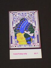 Cactus & Flamin' Groovies Psychedelic Fillmore Ticket by Willyum Rowe Bg284