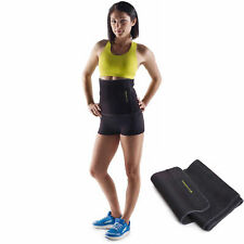 Golds Gym 10 inch Wide Waist Trimmer Adjustable Belt Trainer Workout Fitness NEW