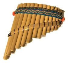 ARTESANAL TOY  PAN FLUTE  13 PIPES  FROM PERU   ITEM IN USA