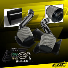 07-09 350Z V6 3.5L Black Cold Air Intake + Stainless Steel Air Filter