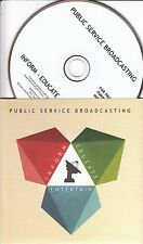 PUBLIC SERVICE BROADCASTING Inform - Educate - Entertain UK 11-track promo CD
