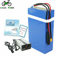Trike Go-Kart Scooter Unit Pack Power 72V 20AH 25AH Ebike Battery with 4A Charger for 3300W 3000W 2500W 2000W 1500W Ebike Waterproof PVC Lithium Battery Pack with 40A// 50A// 60A BMS Motorcycle