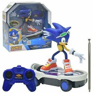 Sonic The Hedgehog SONIC FREE RIDERS Racer Remote Control RC Toy