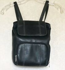 Targus Small Leather Backpack Camera Compartment Carrying Case