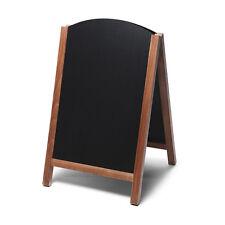 Lavagna nera a cavalletto cm.55x85 scrivibile con pannello estraibile