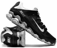 NIB Men's Nike Reax 8 TR Mesh Running Shoes Sneakers 621716 005 Torch Black Silv