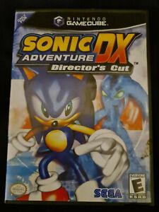 Sonic Adventure DX - Nintendo GameCube - NTSC - Complete with manual