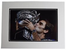 Roger Federer SIGNED autograph 16x12 photo display Tennis Open Sport AFTAL COA