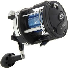 NGT LS3000 MULTIPLIER SEA FISHING REEL WITH 25LB BLUE SEA LINE BOAT FISHING REEL