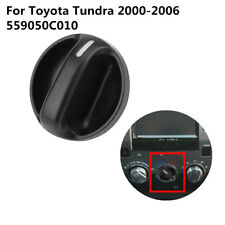 1pc Heater A/C Air Condition Fan Control Knob for Toyota Tundra 00-06 559050C010