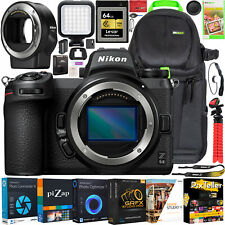 Nikon Z6II Mirrorless Camera Body Full Frame Bundle + FTZ Lens Mount Adapter Kit
