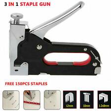 Staple Gun Kit Heavy Duty Stapler Nail Remover Tool Hobby DIY Craft Artwor BDG