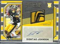 Diontae Johnson ROOKIE PATCH AUTO Steelers 2019 Timeless Treasures /25