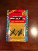MICRO ACTION WWII World War 2 Fighter planes Fighters Model 1989