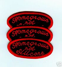 CAFE RACER ROCKERS FOREVER NOVELTY HOME GROWN NO SILICONE 3-PATCH SET