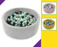 Tweepsy Baby Round Foam Ball Pit with 250 Plastic Balls - BKOD4