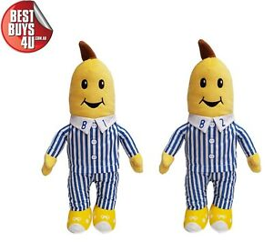 BANANAS IN PYJAMAS TALKING SOFT PLUSH TOY SET (B1 and B2 INCLUDED)