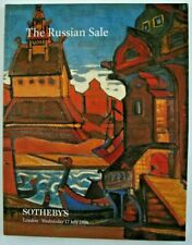 Sotheby London July 17 1996 The Russian Sale