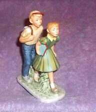 Norman Rockwell Day In The Life Of A Boy Figurine Gorham