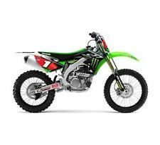 NEW KAWASAKI KX450F GRAPHICS KIT Team Monster Energy® DECALS STICKERS