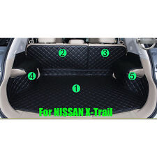 Cargo Trunk Boot Liner Carpet Cover Mat For Nissan X-Trail 2007-2013 Waterproof