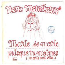 "Nana MOUSKOURI    Marie se marie     7""  45 tours SP"